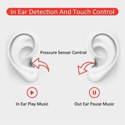 1:1 rozmiar słuchawki douszne GPS redukcja szumów tryb przezroczystości Smart Touch bezprzewodowe słuchawki MX Pro tws airpording 3 zestawy słuchawkowe bluetooth 3