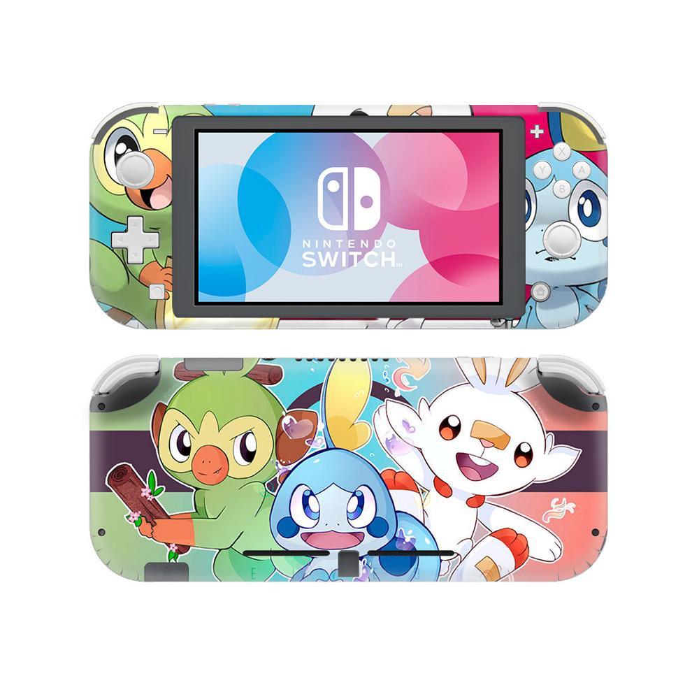 Pokemon Go Sword Shield Skin Sticker Decal For Nintendo Switch Lite Console Protector Mini Nintendo Switch Lite Skin Sticker Eshopini