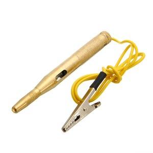 Treyues 1 шт. 6-12 в авто напряжение Электрический тест er тестовая ручка карандаш с зондом