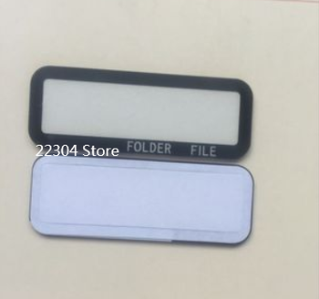 NEW Top Outer LCD Display Window Glass Cover (Acrylic) For Canon EOS EOS-1DX 1DX Digital Camera Repair Part + TAPE image