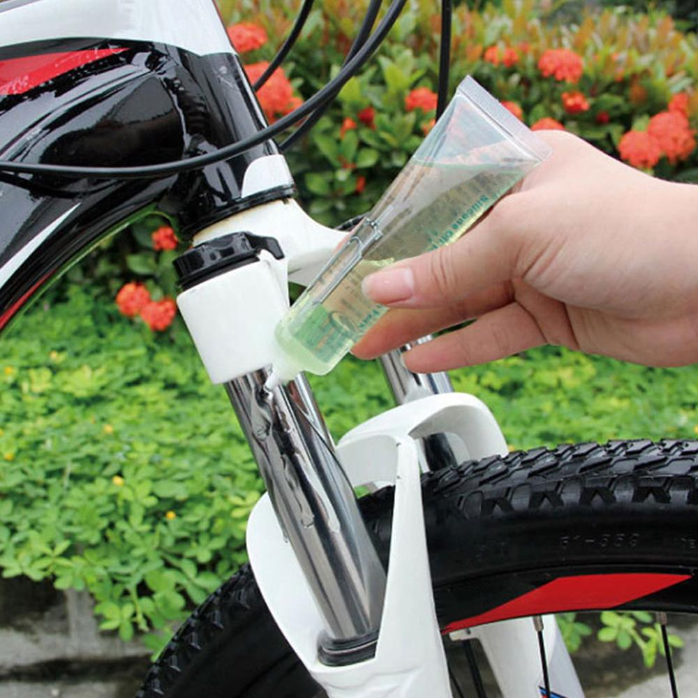 Bicycle Front <font><b>Fork</b></font> Shock Absorbers Silicone Oil <font><b>Bike</b></font> Suspension Rust Prevention Oil Lubricating Fluid image