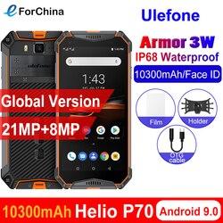 Ulefone power 3 Вт IP68 Водонепроницаемый Android 9,0 мобильные телефоны 5,7 дюймHelio P70 6G + 64G Face ID NFC глобальная версия смартфона 10300 мАч