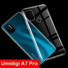 Phone-Case Tpu-Cover Umidigi A7 Ultra-Thin for Clear Soft Pro Couqe Funda