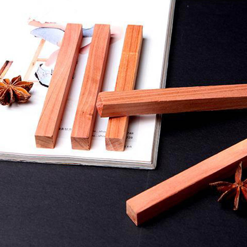 Cedar Wood Block Ring Wardrobe Clothes Insect Repellent Moth Ball Household Moth Mildew Proofing