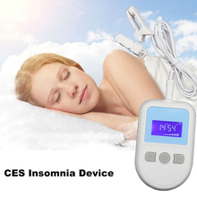 CES Microcurrent Physiotherapy Instrument Brain Stmulator Cure Insomnia Sleeping Anxiety Migraine No Sleep anxiety cure the