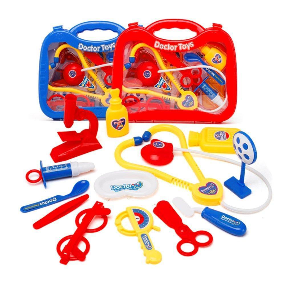 Kids Children Doctor Nurses Toy Medical Set Role Play Hard Carry Case FREE P /& P