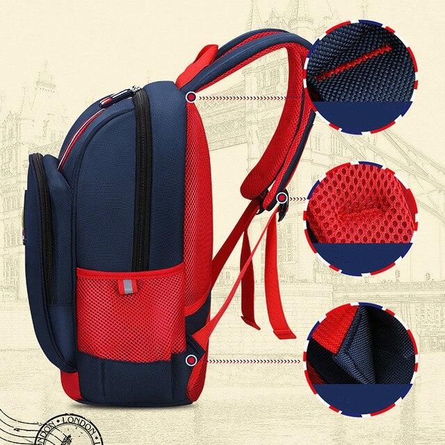 Αγγλικό στυλ σχολικό backpack