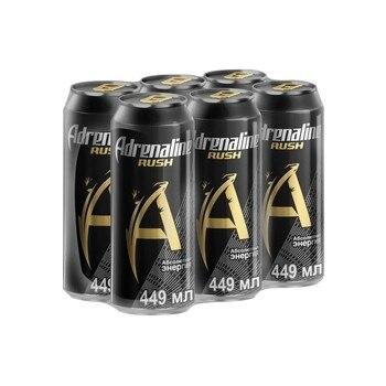 Adrenaline Rush энергетический напиток, 6шт по 0.449 л|Энергетические напитки|   | АлиЭкспресс