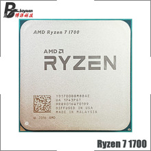 AMD Ryzen 7 1700 R7 1700 3.0 GHz Otto-Core Sedici-Thread di CPU Processore YD1700BBM88AE Presa AM4