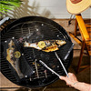 2 Sizes Non Stick Heat Resistance BBQ Mesh Grilling Bag 2