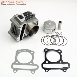 52mm Big Bore Racing Cylinder Kit for Baotian BT49QT 50cc GY6 139QMB 50cc to 120cc upgrade 4-stroke Engine parts(China)