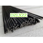 10pcs black glass fi...