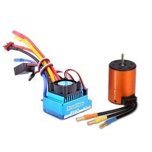 Bezszczotkowy zestaw do aktualizacji Motor ESC zestaw do WLtoys 144001 A959-B A979-B części zamienne do samochodów RC