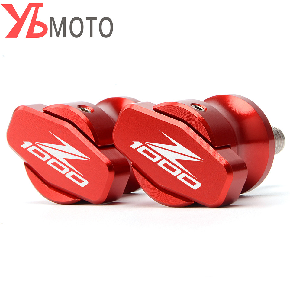 CNC Motorcycle Swingarm Slider Spools stand screws For <font><b>Kawasaki</b></font> Z1000 Z 1000 <font><b>Z1000SX</b></font> SX 2015 2016 2017 2018 <font><b>2019</b></font> 2020 image