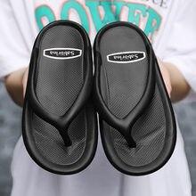 Пляжные шлепанцы для мужчин и женщин Нескользящие сандалии повседневная