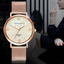Women Dress Watches Rose Gold Stainless Steel Top Brand Fashion Ladies Wristwatch Creative Quartz Clock Cheap Luxury Watches цена
