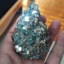 1 kg/lô đá Tự Nhiên và tinh thể Pyrit đá khoáng mẫu vật đánh lừa của vàng vào ngày Cá Tháng Tư