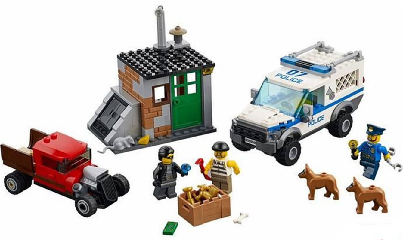 Bela 10419 Urban Compatible With Legoinglys City Toys For Children Police Building Block Toys For Boy Birtyday's Gift