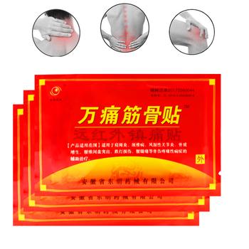8 sztuk worek staw kolanowy plaster przeciwbólowy plaster medyczny rozluźnienie mięśni wspólne środek przeciwbólowy z tyłu szyi plastry masaż tanie i dobre opinie FUJIEMEIBAO G07014 BODY Medical plasterG07014 Knee Joint Pain Relieving Patch Tiger Balm Plaster Relief Lumbar Cervical Spondylosis