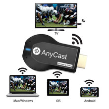 Anycast m2 mais tv vara wi-fi display receptor dongle para dlna miracast airplay airmirror hdmi 1080p tela de espelhamento mirascreen