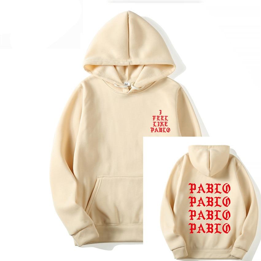 Winter 2019 Fashion Brand Hoodie Sweatshirt Men Women Letter Print Hoodie Men Kanye West Pablo Anti-Social Hoodies Streetwear