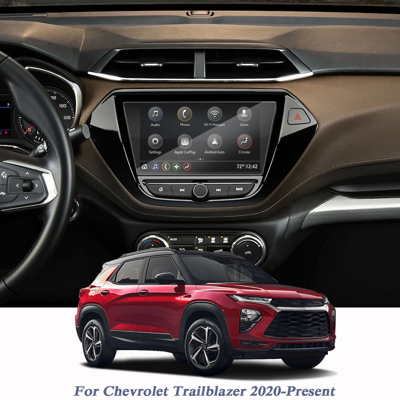 8inch Car Styling GPS Navigation Screen Film For Chevrolet Trailblazer 2020-Present GPS Screen Film Auto Accessory