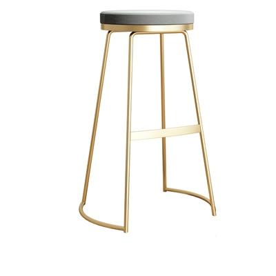 Nordic Bar Chair Simple Modern Bar Chair European High Stool Fashion Bar Stool Bar Stool Leisure High Chair