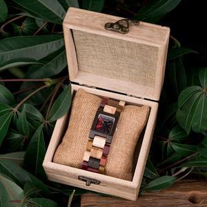 Image 5 - BOBO BIRD 25mm małe kobiety zegarki drewniane zegarki kwarcowe zegarki najlepsze prezenty dla dziewczyny Relogio Feminino w drewnianym pudełku