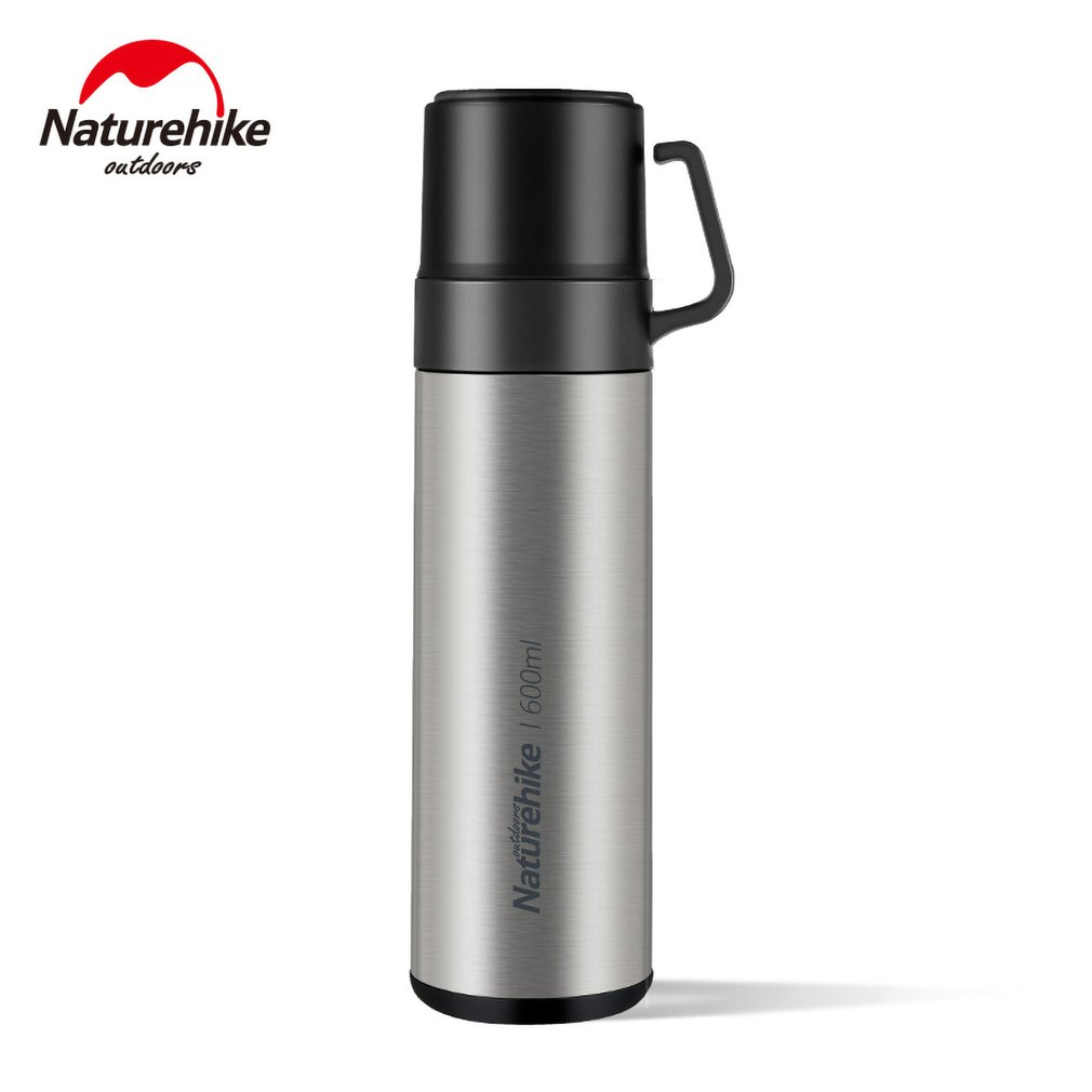 Naturehike Leak proof Stainless Steel Vacuum Insulated Cup Mug Containers Outdoor Travel Durable Environmentally Friendly Sports Bottles     - title=
