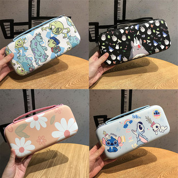 Cute Cartoon Anime Storage Bag For Nintendo Nintend Switch Game Console Box Shell Cover Kawaii Travel Carrying Protective Case