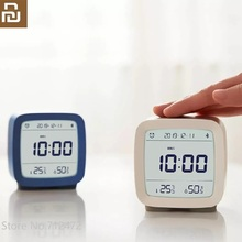 Alarm-Clock Temperature Bluetooth Qingping And Humidity-Monitoring Night-Light Three-In-One