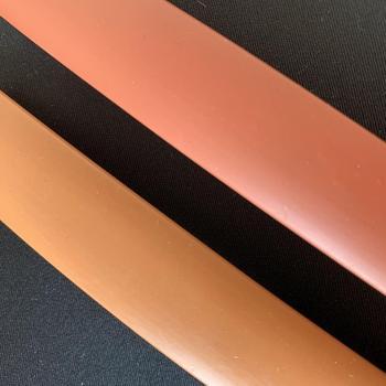 U Edge Banding Veneer Edging Wood Furniture Soft PVC Edgeband 3mm 5mm 9mm 10mm 16mm 18mm Orange Red Brown