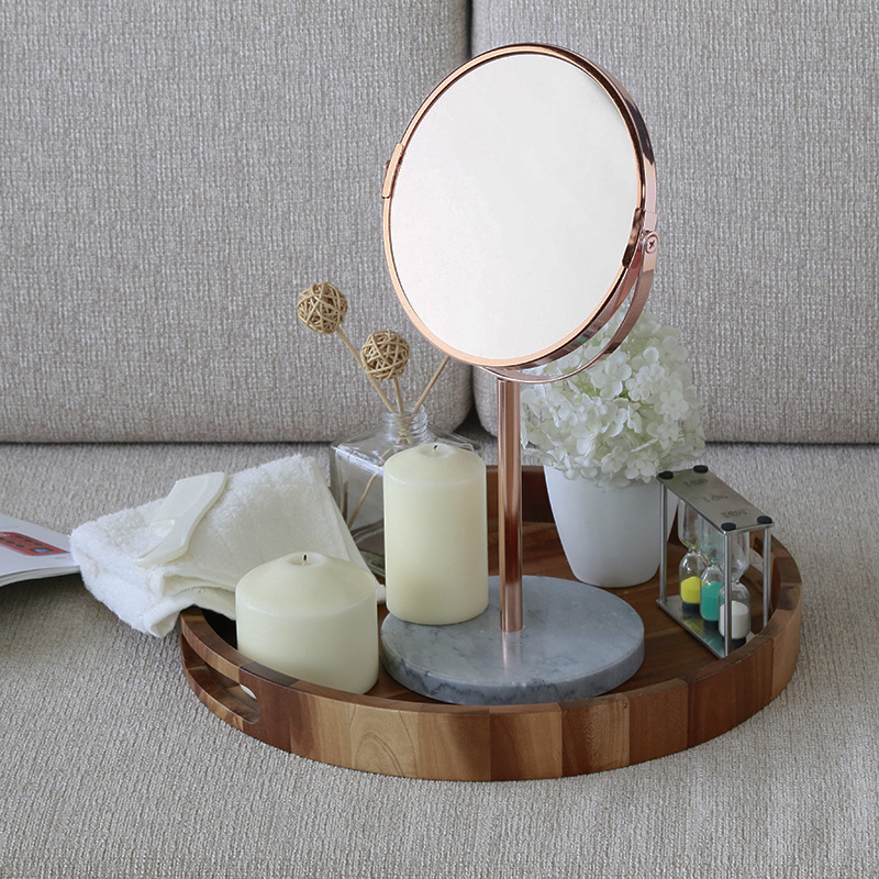 A1 Marble Tabletop Mirror Double Sided