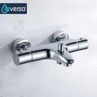 EVERSO Thermostat Dusche Armaturen Badezimmer Thermostat Mischer Heißer Und Kalten Bad Mischer Misch Ventil Badewanne Wasserhahn