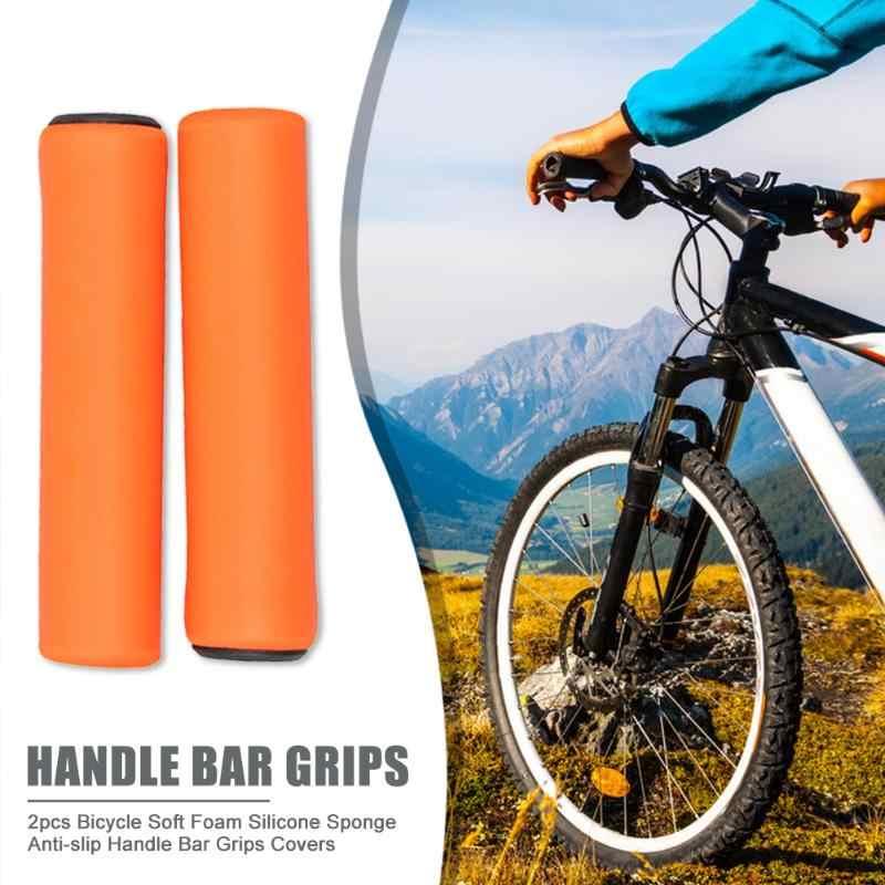 MTB Soft Foam Silicone Sponge Handle Bar Grips Bicycle Bike Cover Hot