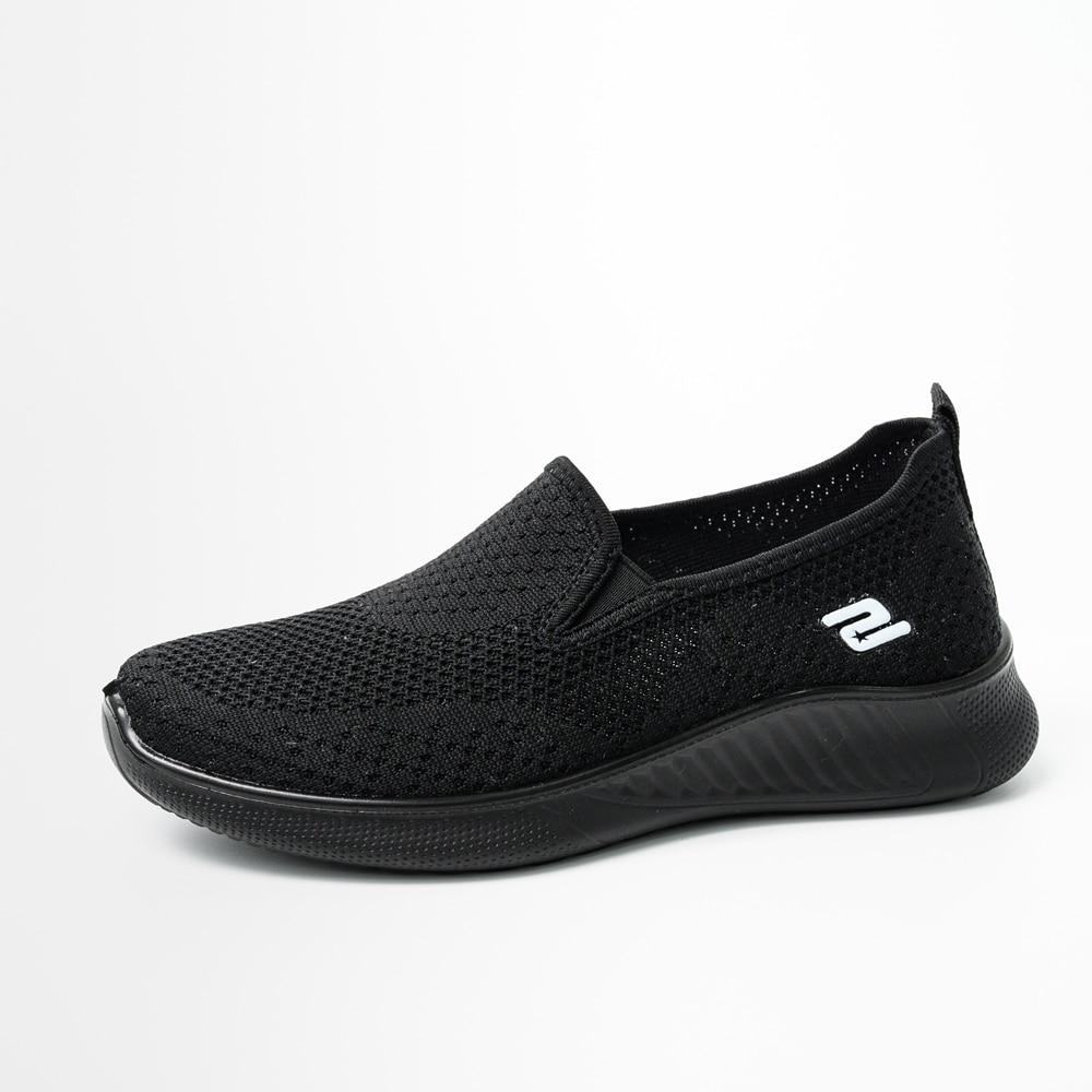 2020 summer women's sneakers slip on soft women's shoes flat casual sock shoes Ladies  Mesh lofaers fashion Vulcanize Shoes 9