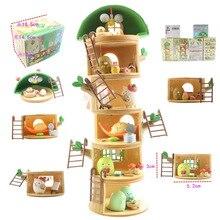 Kid Speelgoed Anime Sumikko Gurashi Boomstronk Huis Vakantie Poppen Sumikko Gurashi Pvc Action Figure Model Educatief Speelgoed Geschenken