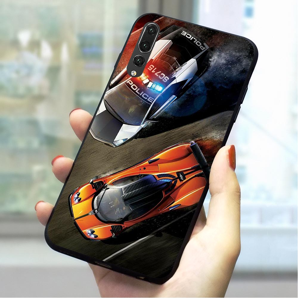 Need For Speed game Soft TPU Case for Huawei P10 Print Phone Cover for P20 P30 Pro Mate 10 Lite 20 P Smart P8 P9 Back image