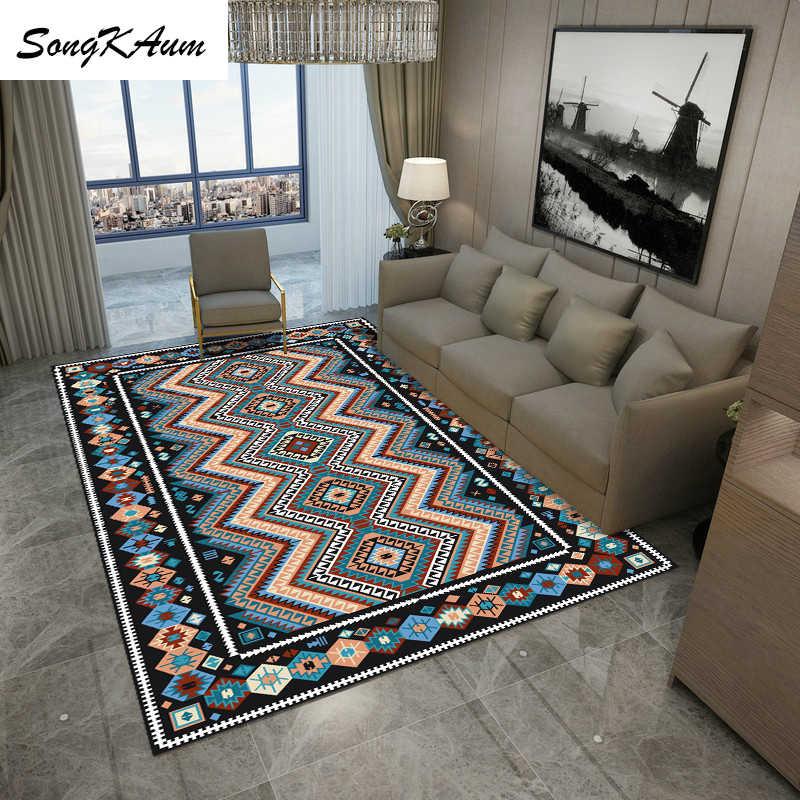 SongKAum Современные Простые короткие воздушные большие коврики, детские Нескользящие татами, Настраиваемые коврики, домашний ковер для спальни