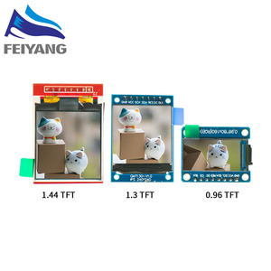TFT Display 0.96 / 1.3 1.44 inch IPS 7P SPI HD 65K Full Color LCD Module ST7735 Drive IC 80*160 (Not OLED) For Arduino(China)