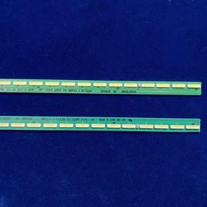 "Image 3 - 2 قطعة x LED شريط إضاءة خلفي 55 ""V15.5 ART3 UD R/L ل LG 55UF6450 55UH6150 55UF6430 LC550EGE 6916L2318A 6916L2319A 6922L 0159A"