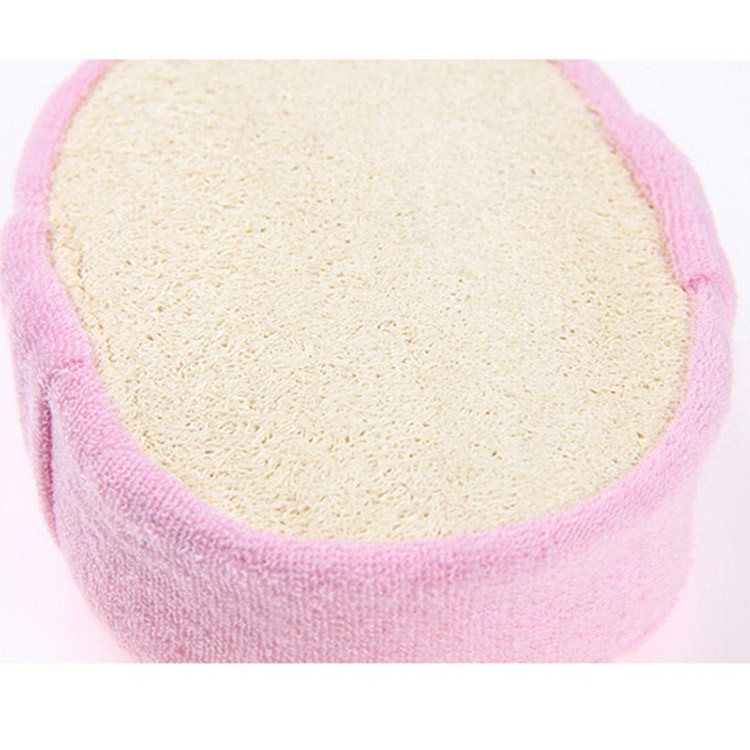 Massager Shower Loofah Luffa Back Spa Scrubber Sponges Sanitary Ware Suite Natural Effective Exfoliator Scrubber Bath Brushs