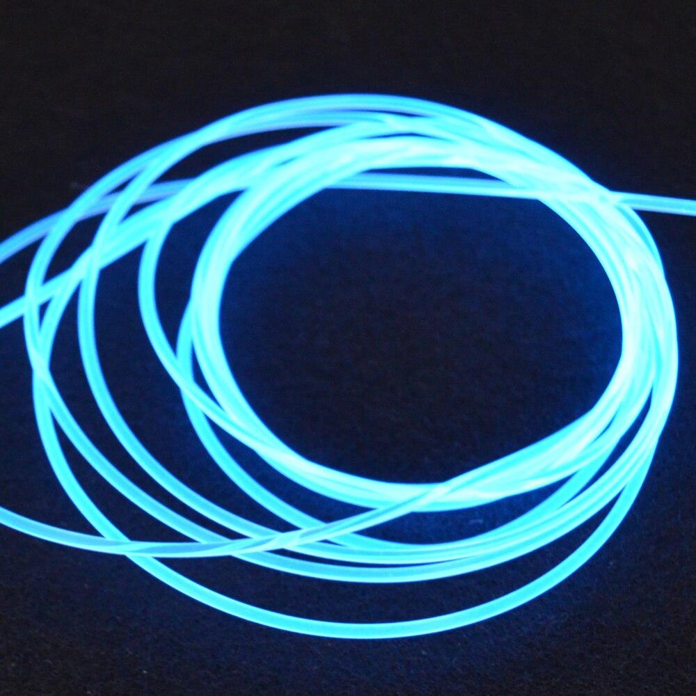 Боковое светящееся оптоволоконное освещение PMMA диаметром 2/3/4 мм