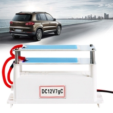 Portable Ozone Generator Car Ceramic Plate DC12V 7G Air Purifier Air Sterilizer Car Ozone цена и фото