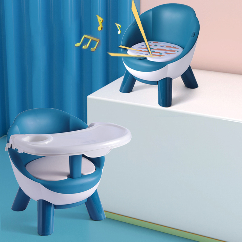 Kids Dining Chair With Plate Baby Eating Table Baby Chair Dining