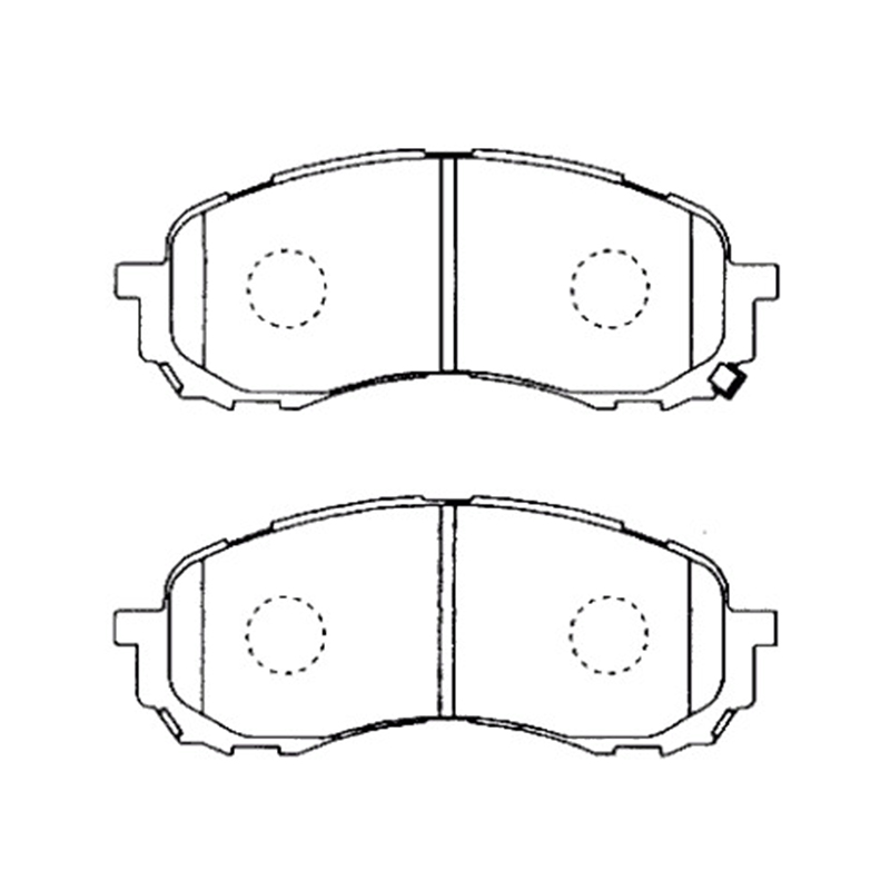 AKEBONO pads brake disc front FIT FOR SUBARU IMPREZA (GG2/3 GD2/3 GH2/3 GE2 /3) LEGACY BH5 AN-691WK n14m ge2 b 100