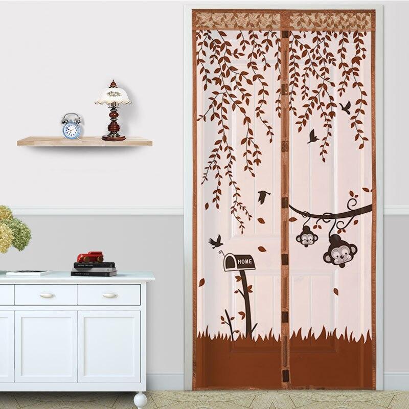 Cortinas Magnéticas de verano mosquitera para puerta ventana malla con imanes mosquitera mágica mosquitera de malla rollo