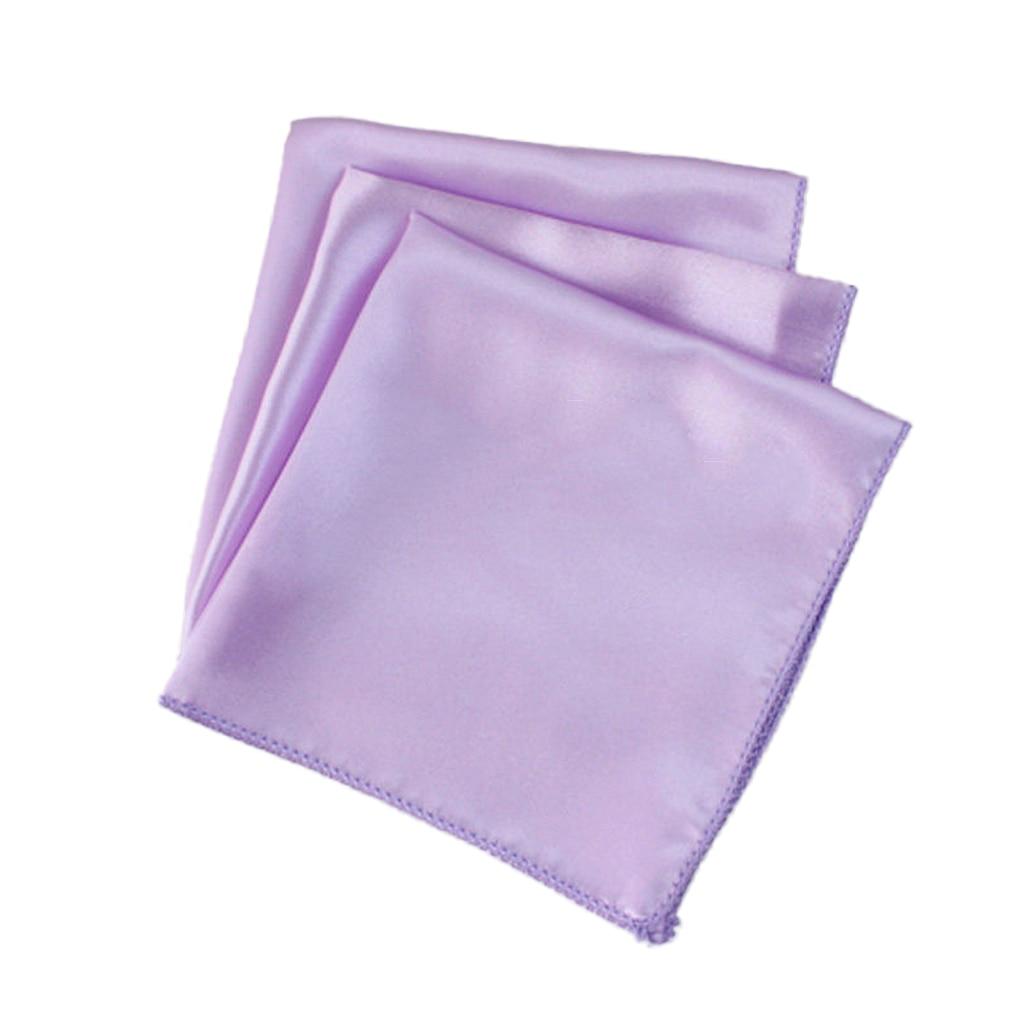 10x Polyester Napkin Pocket Handkerchief Square Wedding Party Tableware 19