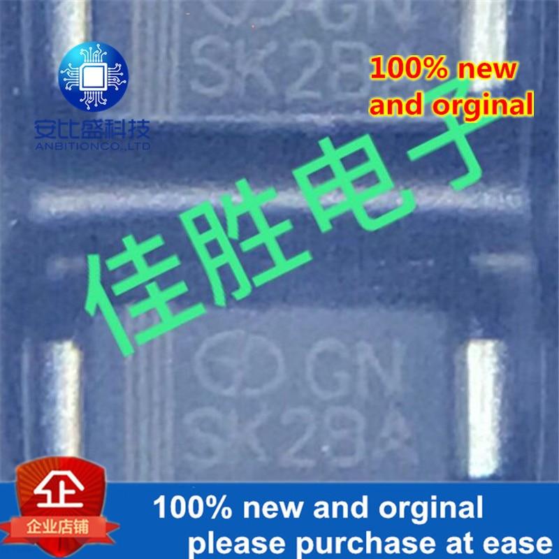50pcs 100% New And Orginal 2A100VDO214AC Silk-screen SK2BA  In Stock