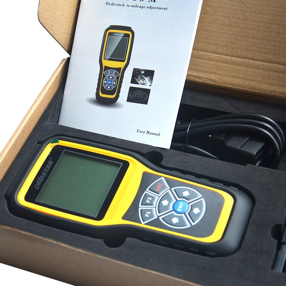 Heißer Verkauf OBDSTAR X300M Spezielle für Kilometerzähler Einstellung Laufleistung Korrektur Werkzeug OBDII Unterstützung Für B-e-nz & m-QB VAG K-M Funktion
